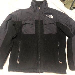Black The Northface jacket heavy